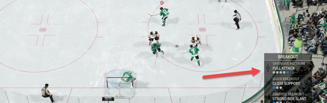 Stop the AI from dumping the puck on the PK