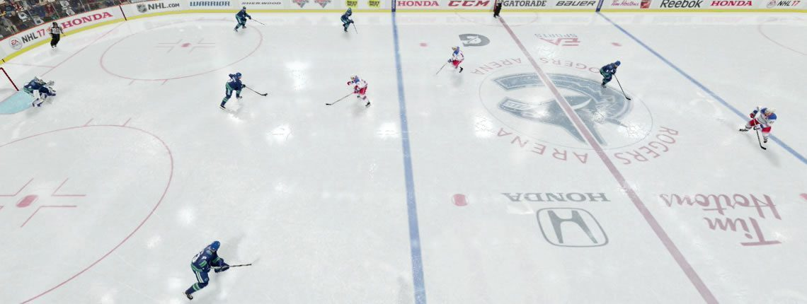 NHL 18 Power Play Breakout Carry option