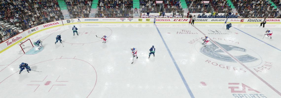 NHL 18 coaching strategies Single Swing Power Play Breakout