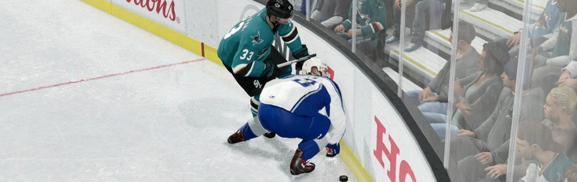 The Hip Check is Very Effective in NHL 17