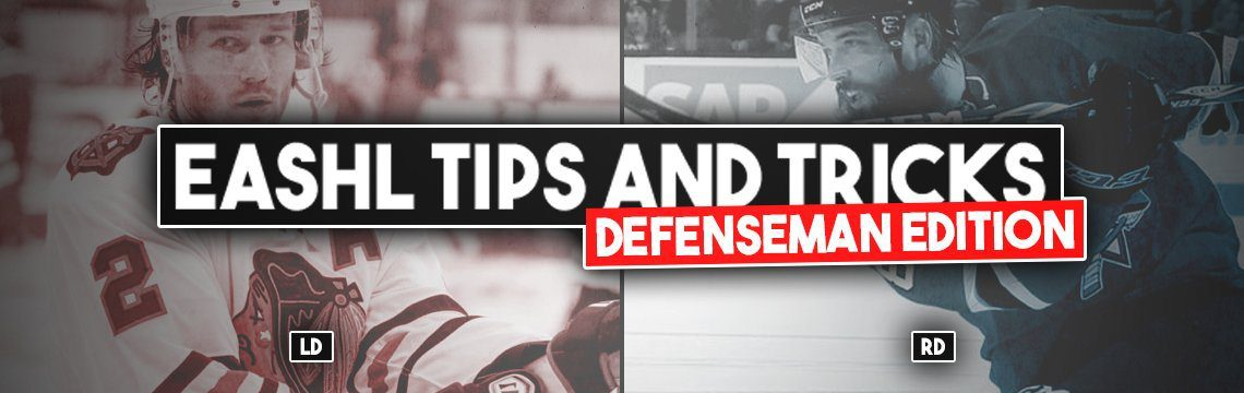 NHL 18 EASHL Tips and Tricks from King Bling: Defenseman Edition!