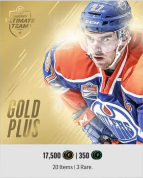 Gold Plus Pack in HUT Store