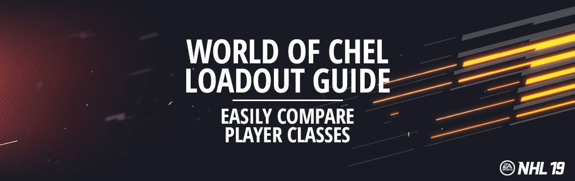 NHL 19 World of Chel and EASHL Player Class Loadout Guide