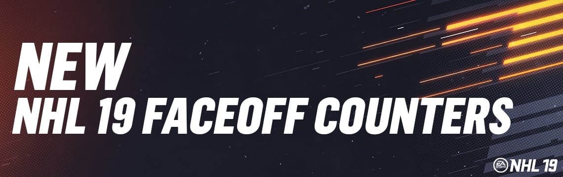 New Faceoff Counters in NHL 19! Get the Advantage